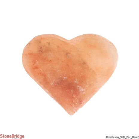 Himalayan Salt Massage Bar - Heart shap