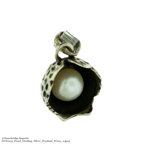 Pearl Sterling Silver Pendant IG213