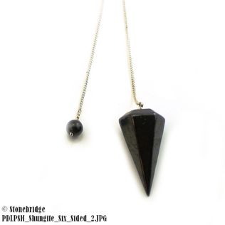 Shungite Pointed Pendulum
